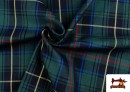 Vente en ligne de Tissu avec Carreaux Écossais Bleus