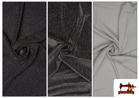 Tissu de Tee-Shirt avec Lycra et Lamé