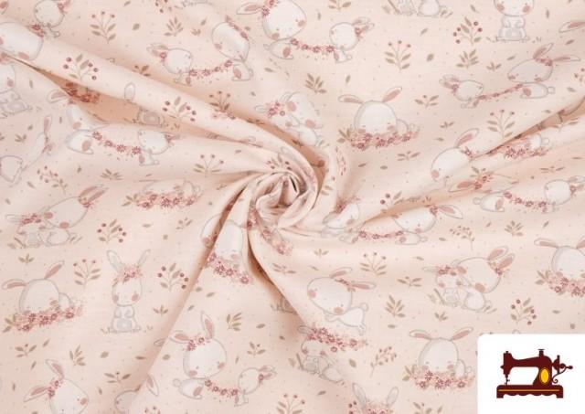 Acheter Tissu Viyella en Coton Organique Imprimé