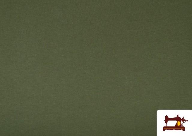 Acheter Tissu de Tee-Shirt de Couleurs couleur Vert Bouteille