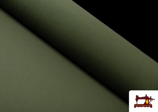 Acheter en ligne Tissu de Tee-Shirt de Couleurs couleur Vert Bouteille