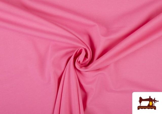 Tissu de Tee-Shirt de Couleurs couleur Fuchsia