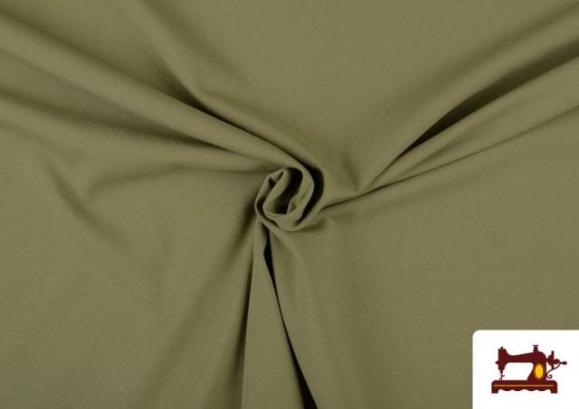 Vente de Tissu de Tee-Shirt de Couleurs couleur Kaki