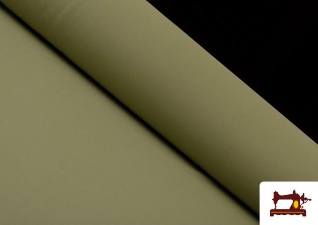 Acheter en ligne Tissu de Tee-Shirt de Couleurs couleur Kaki