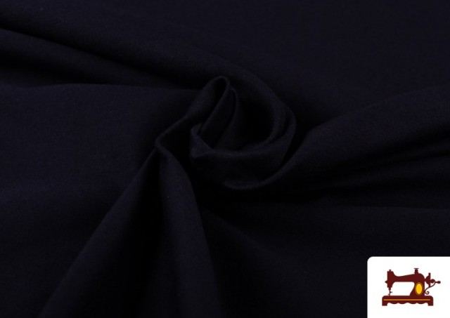 Tissu de Tee-Shirt de Couleurs couleur Bleu Marine