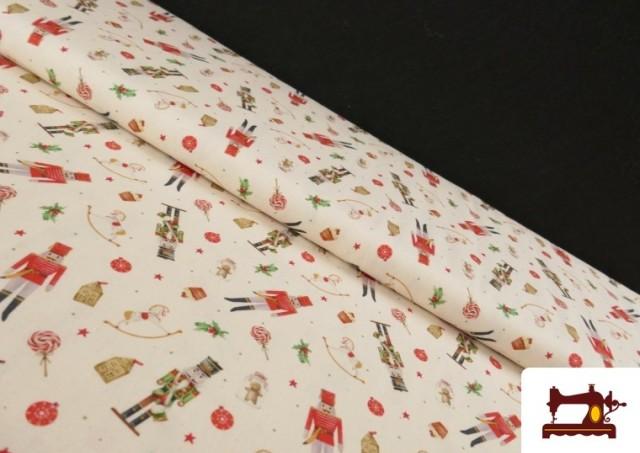 Acheter Tissu en Coton de Noël avec Imprimé Casse-Noisette