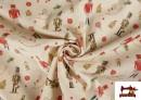 Vente en ligne de Tissu en Coton de Noël avec Imprimé Casse-Noisette