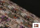 Acheter Tissu en Coton Nuit d'Halloween