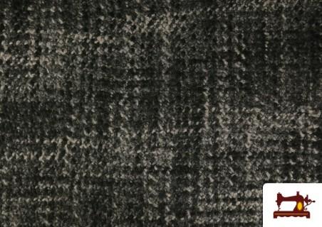 Tissu pour Manteaux Cheviot en Laine