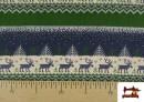 Vente en ligne de Tissu en Sweat Imitation Pull de Noël couleur Bleu