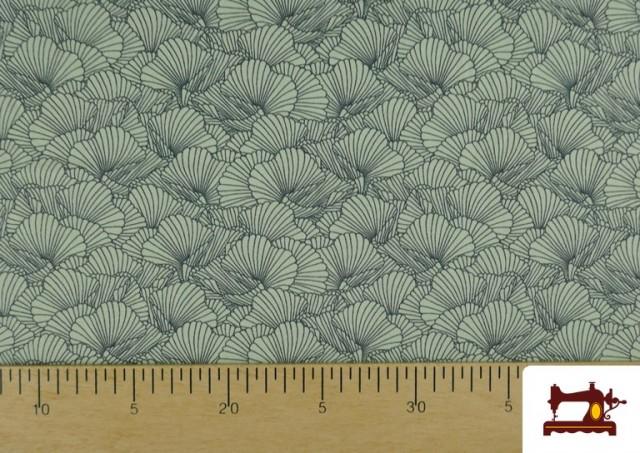 Tissu de T-Shirt Imprimé avec Pétales