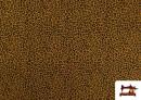 Tissu en Coton avec Imprimé Léopard de Couleurs couleur Moutarde