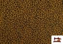 Acheter Tissu en Coton avec Imprimé Léopard de Couleurs couleur Moutarde