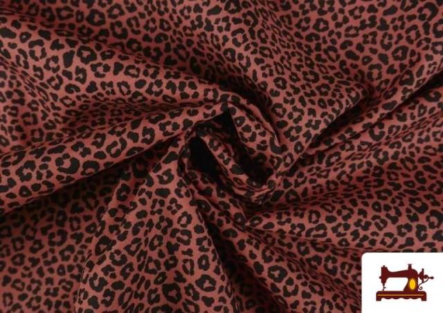 Acheter Tissu en Coton avec Imprimé Léopard de Couleurs