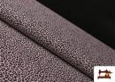 Vente de Tissu en Coton avec Imprimé Léopard de Couleurs couleur Rose pâle