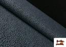 Tissu en Coton avec Imprimé Léopard de Couleurs couleur Bleu Marine