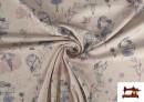Tissu de Tee-shirt Imprimé avec Fées