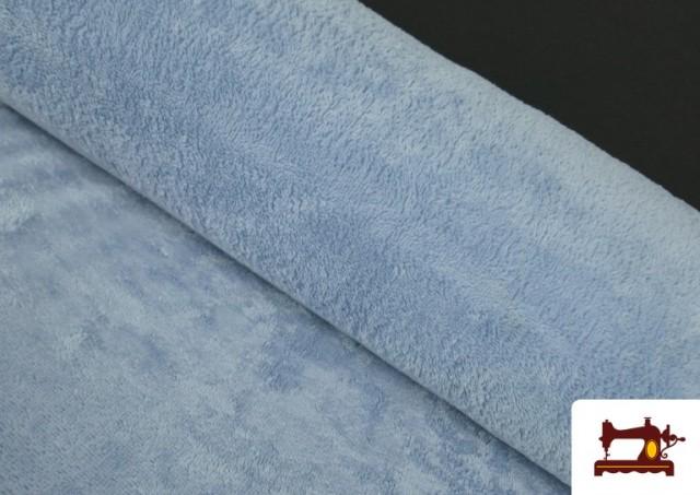 Tissu Éponge en Bambou de Couleurs Pastel