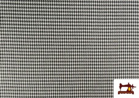 Tissu Viyella avec Imprimé Pied-de-Poule Mini