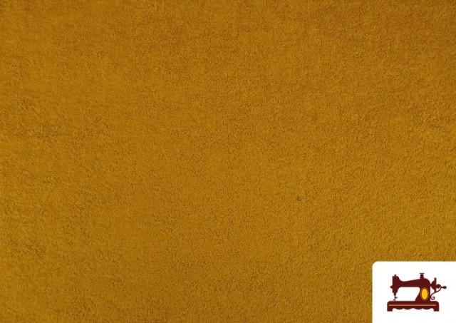 Acheter Tissu pour Serviettes avec Boucle Américaine de Couleur Beige Sable couleur Moutarde