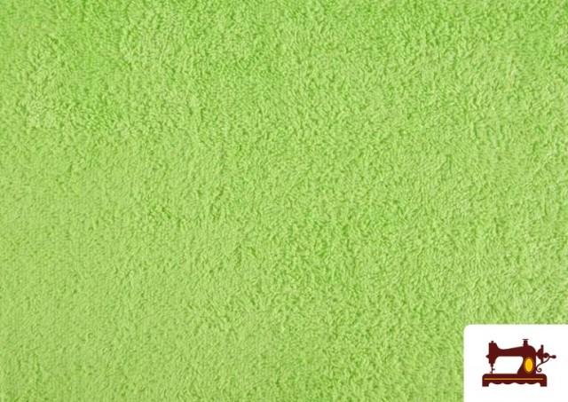 Acheter Tissu pour Serviettes avec Boucle Américaine de Couleur Beige Sable couleur Vert menthe