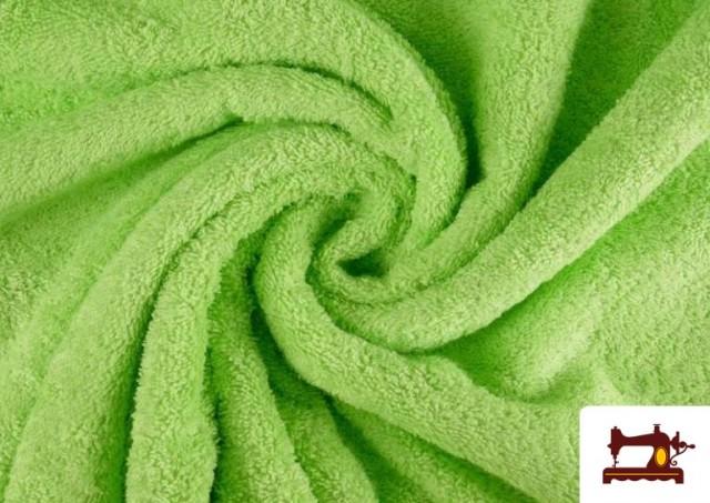 Acheter en ligne Tissu pour Serviettes avec Boucle Américaine de Couleur Beige Sable couleur Vert menthe