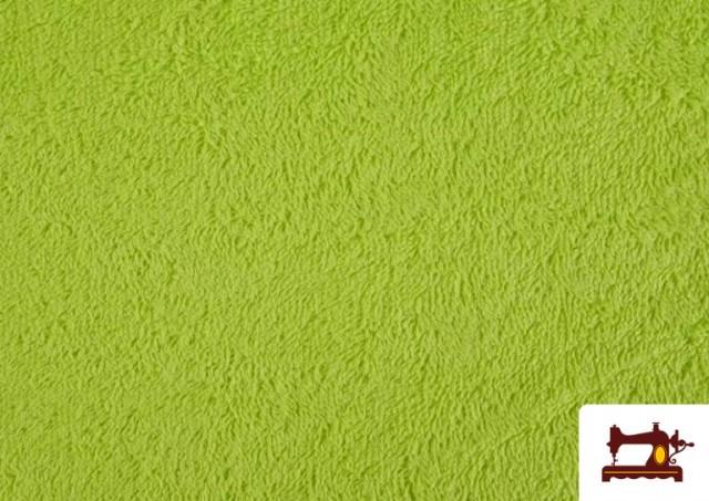 Vente en ligne de Tissu pour Serviettes avec Boucle Américaine de Couleur Beige Sable couleur Vert pistache