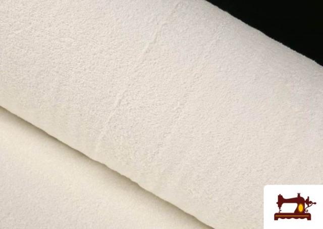 Acheter Tissu pour Serviettes avec Boucle Américaine de Couleur Beige Sable couleur Blanc