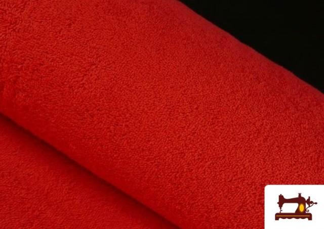 Vente en ligne de Tissu pour Serviettes avec Boucle Américaine de Couleur Beige Sable couleur Rouge