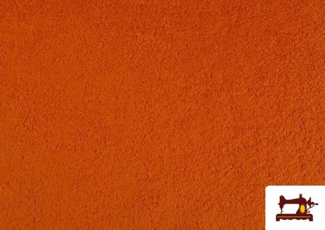 Acheter Tissu pour Serviettes avec Boucle Américaine de Couleur Beige Sable couleur Orange