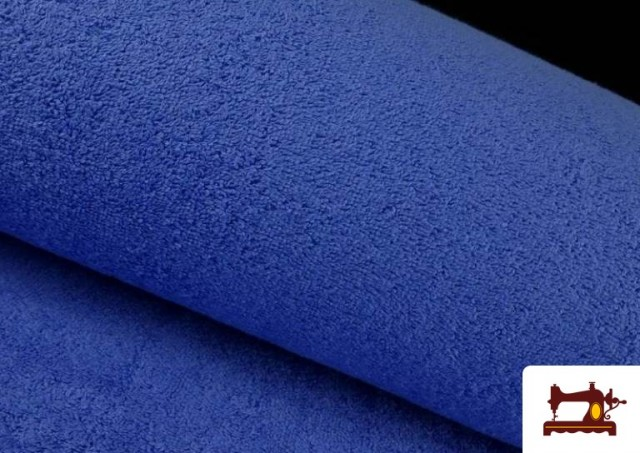 Vente en ligne de Tissu pour Serviettes avec Boucle Américaine de Couleur Beige Sable couleur Bleu Cobalt