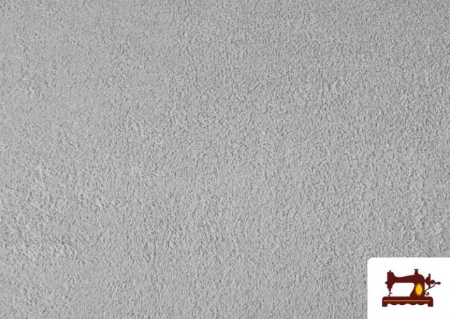 Acheter en ligne Tissu pour Serviettes avec Boucle Américaine de Couleur Beige Sable couleur Gris clair