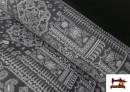 copy of Tissu en Coton Imprimé avec Lettres Désirs de Noël