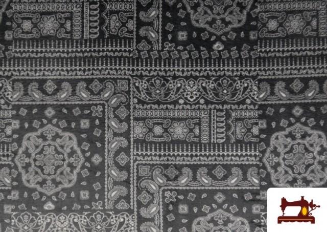 Acheter copy of Tissu en Coton Imprimé avec Lettres Désirs de Noël