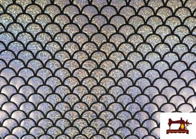 Acheter en ligne copy of Tissu en Lycra Imitation Écailles de Poisson