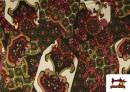 Acheter copy of Tissu en Lycra Imitation Écailles de Poisson couleur Rouge