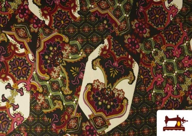 Vente de copy of Tissu en Lycra Imitation Écailles de Poisson couleur Rouge