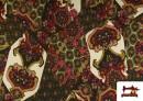 Acheter en ligne copy of Tissu en Lycra Imitation Écailles de Poisson couleur Rouge