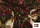 copy of Tissu en Lycra Imitation Écailles de Poisson couleur Rouge