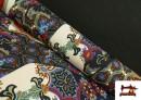 copy of Tissu en Lycra Imitation Écailles de Poisson couleur Bleu