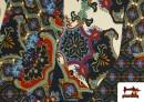 Vente de copy of Tissu en Lycra Imitation Écailles de Poisson couleur Bleu