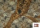 Acheter en ligne copy of Tissu en Lycra Imitation Écailles de Poisson couleur Brun