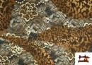 Vente en ligne de copy of Tissu en Lycra Imitation Écailles de Poisson couleur Brun