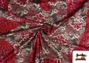 Acheter en ligne copy of Tissu en Lycra Imitation Écailles de Poisson couleur Rubis