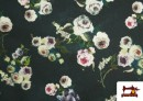 Acheter en ligne copy of Tissu en Texan Imprimé avec Feuilles