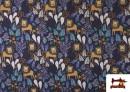 Acheter copy of Tissu en Softshell avec Imprimé Psychédélique de Couleurs