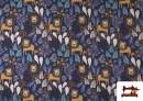 Vente de copy of Tissu en Softshell avec Imprimé Psychédélique de Couleurs