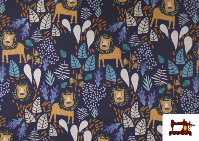 Acheter en ligne copy of Tissu en Softshell avec Imprimé Psychédélique de Couleurs