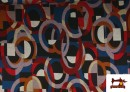 Acheter copy of Tissu Style PuntRoma avec Imprimé Gris