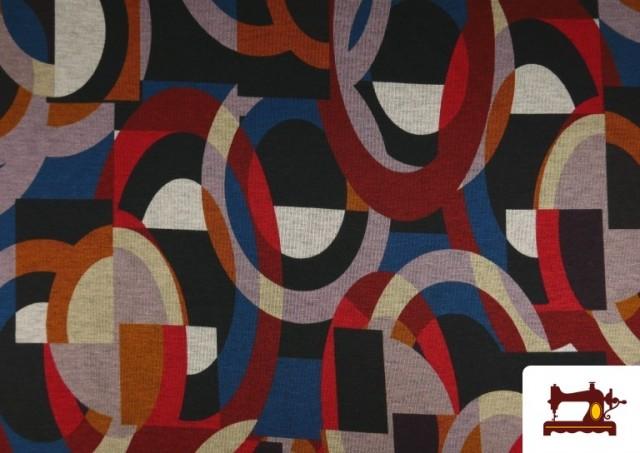 Acheter en ligne copy of Tissu Style PuntRoma avec Imprimé Gris